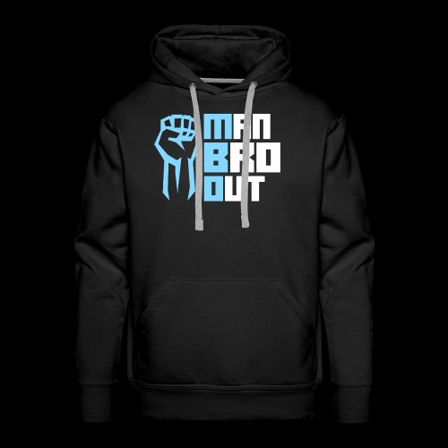 Man Bro Out - Men's Premium Hoodie
