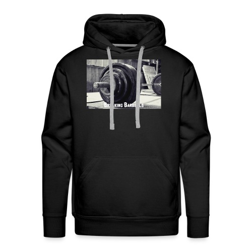 Breaking Barbells - Men's Premium Hoodie