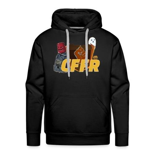 Logo CFFR (halloween) - Sweat-shirt à capuche Premium pour hommes