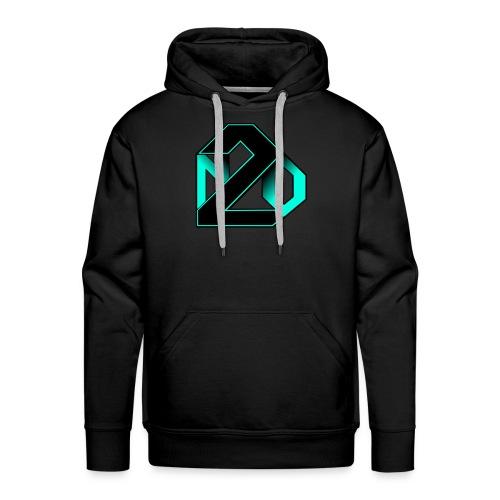 N2O turquoise - Sweat-shirt à capuche Premium pour hommes