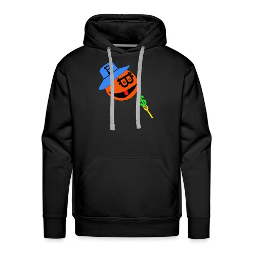 Eat dollar BY BITCOIN - Mannen Premium hoodie