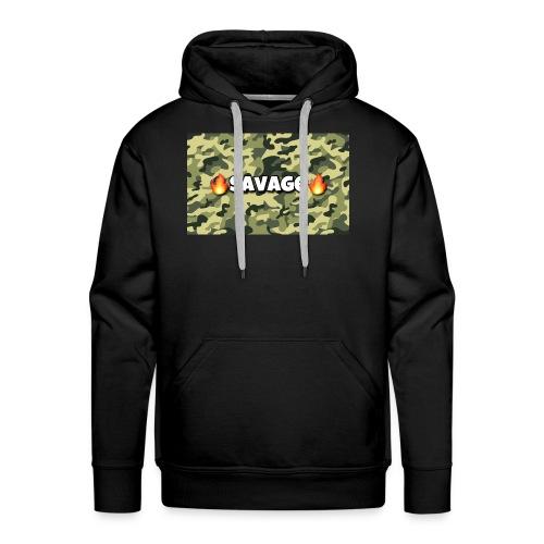 Savage - Männer Premium Hoodie