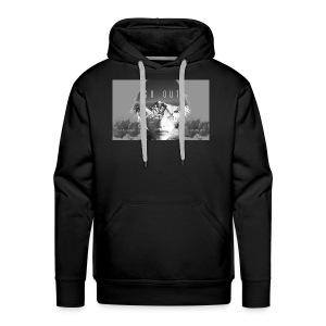 Visage incrustation - Sweat-shirt à capuche Premium pour hommes
