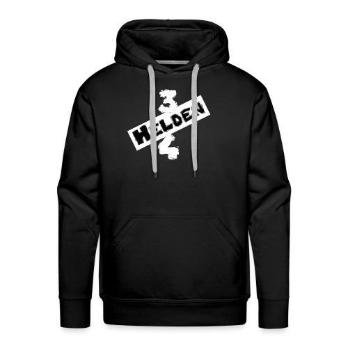 Logo Schriftzug hell - Männer Premium Hoodie