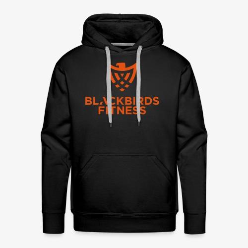 Blackbirds Fitness Logo orange - Männer Premium Hoodie