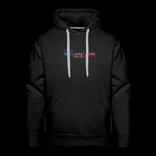 FPV Racing Games nom et logo - Sweat-shirt à capuche Premium pour hommes