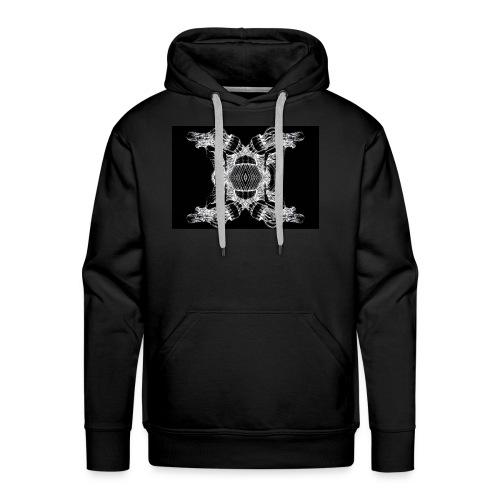 Tête de cachalot - Sweat-shirt à capuche Premium pour hommes