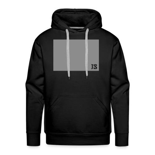 JustSquares Grijs - Mannen Premium hoodie