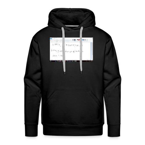 Schermopname 1 - Mannen Premium hoodie