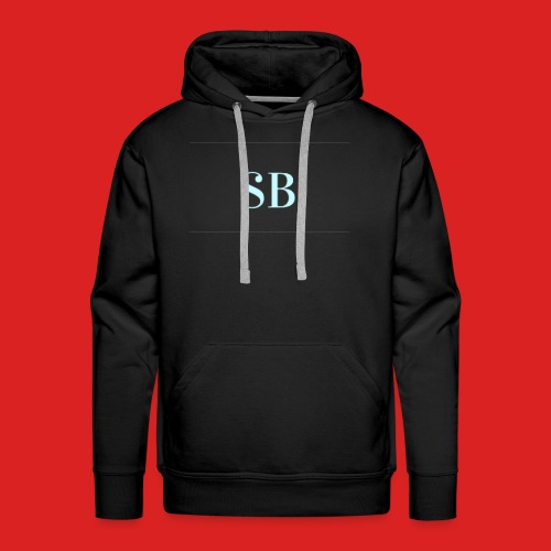 Sb blue logo merch - Men's Premium Hoodie