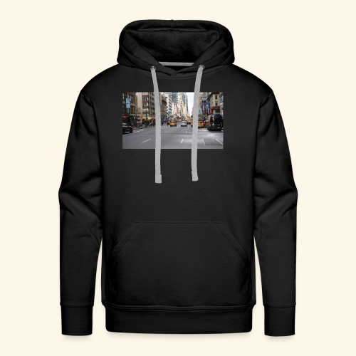 New York Traffic - Männer Premium Hoodie