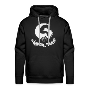 Animal Tube Hand Grey - Männer Premium Hoodie