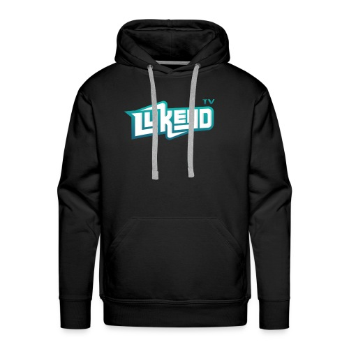 lukeyD TV Logo - Men's Premium Hoodie