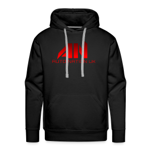 Chilli Red - Original Logo - Men's Premium Hoodie