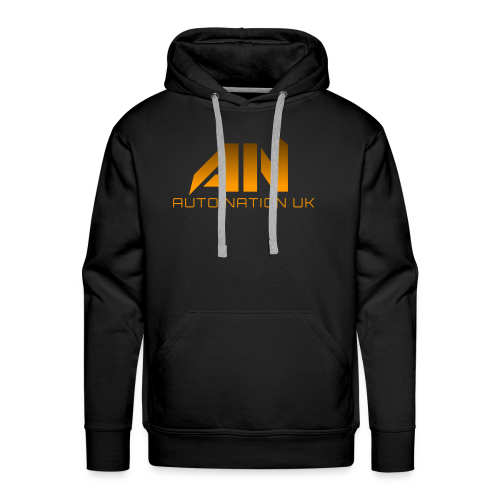 Molten Orange - Original Logo - Men's Premium Hoodie