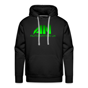 Electric Green - Original Logo - Men's Premium Hoodie