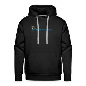 mug plus text - Men's Premium Hoodie