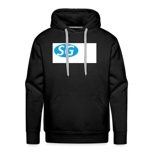 logo oficieele swen games - Mannen Premium hoodie
