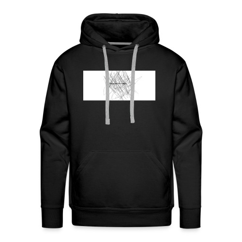scrible out the hatters - Men's Premium Hoodie