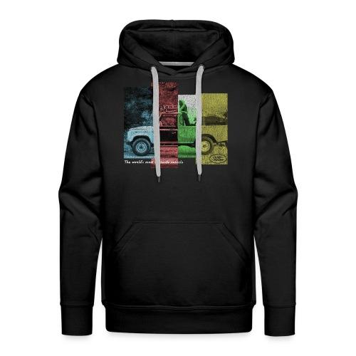 Passion land - Sweat-shirt à capuche Premium pour hommes
