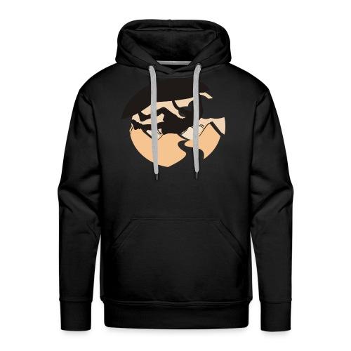 Felsenklettern - Männer Premium Hoodie