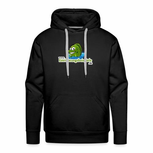 Einrichtungsbeispiele.de Logo - Männer Premium Hoodie