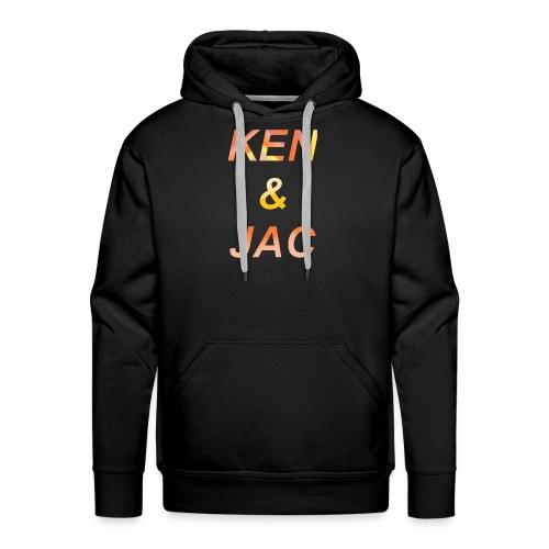 Ken & Jac Logo - Premium hettegenser for menn