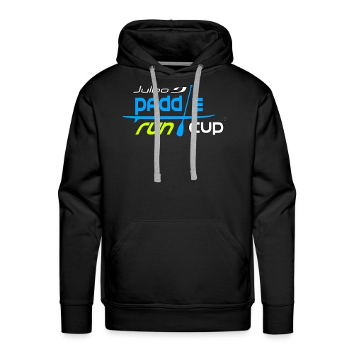 SPREADSHIRT_Logos_Paddle_Run_v3_-3- - Sweat-shirt à capuche Premium pour hommes