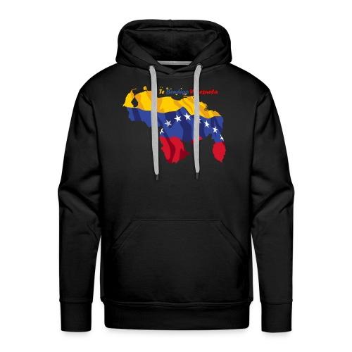 Bandera de Venezuela - Sudadera con capucha premium para hombre