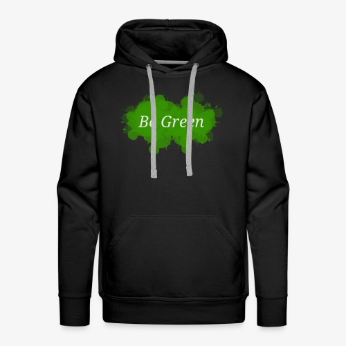 Be Green Splatter - Men's Premium Hoodie