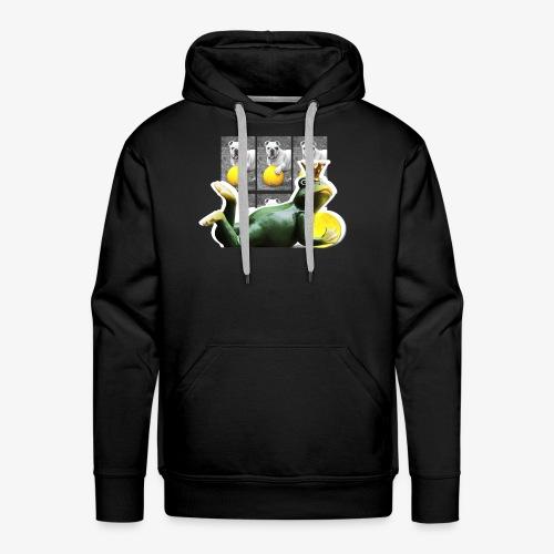 malicious frog - Sweat-shirt à capuche Premium pour hommes
