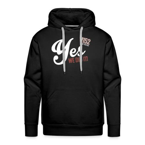 YES-1152.wh - Männer Premium Hoodie