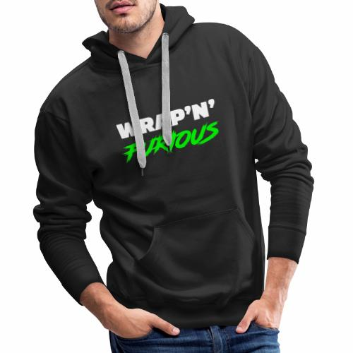 Wrap n Furious1 - Sweat-shirt à capuche Premium pour hommes