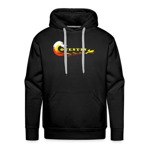 Cotentin life saving - Sweat-shirt à capuche Premium pour hommes