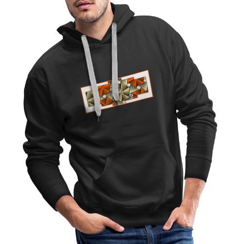 Abstract pattern - Men's Premium Hoodie
