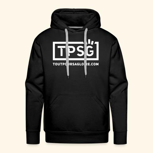 Logo TPSG - Sweat-shirt à capuche Premium pour hommes