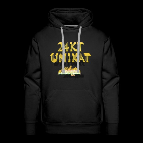 24kt Unikat Kansidah Design - Männer Premium Hoodie