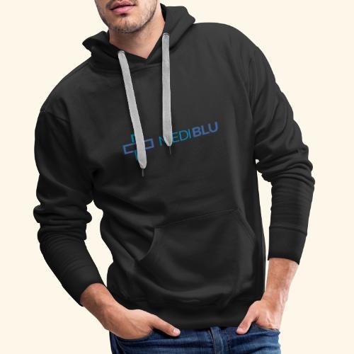 Mediblu - Felpa con cappuccio premium da uomo