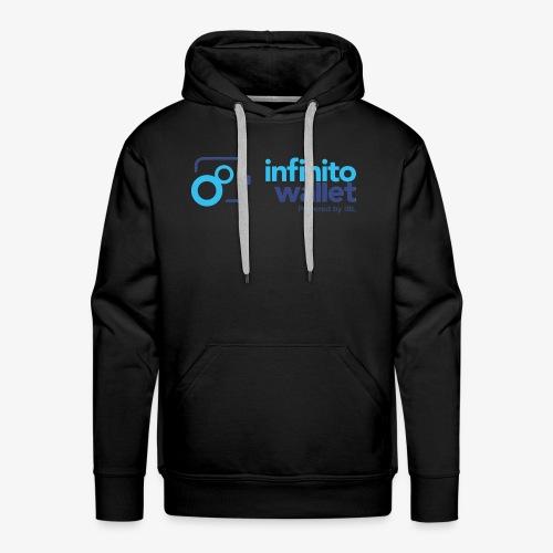 infinito wallet Farbe - Männer Premium Hoodie