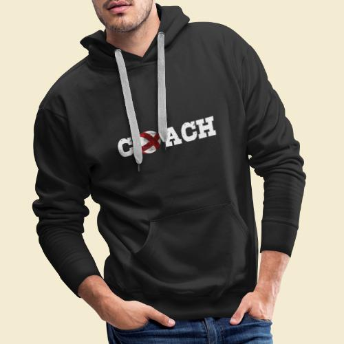 Radball   Coach - Männer Premium Hoodie