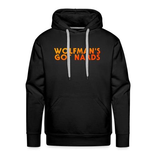 Wolfman's Got Nards 2018 Logo - Men's Premium Hoodie