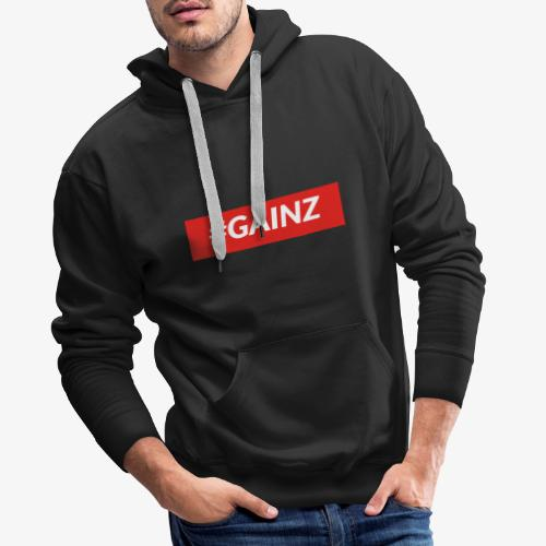 Gainz by Simon Mathis - Männer Premium Hoodie