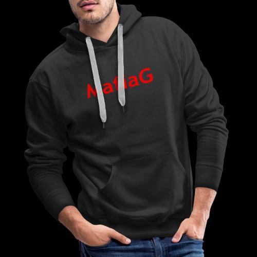 MafiaG Red - Men's Premium Hoodie