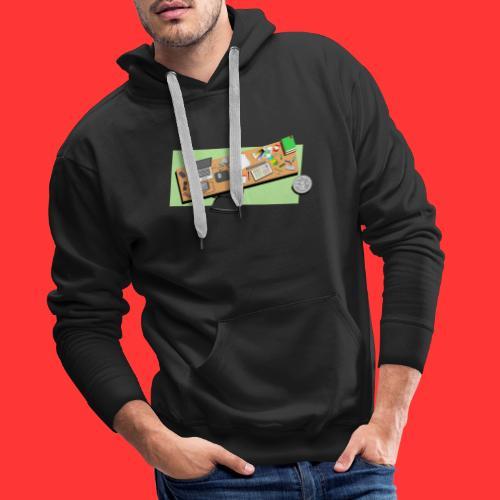 Designers desk - Mannen Premium hoodie