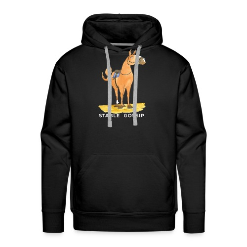 Stable Gossip by Joanna Fisher - Men's Premium Hoodie