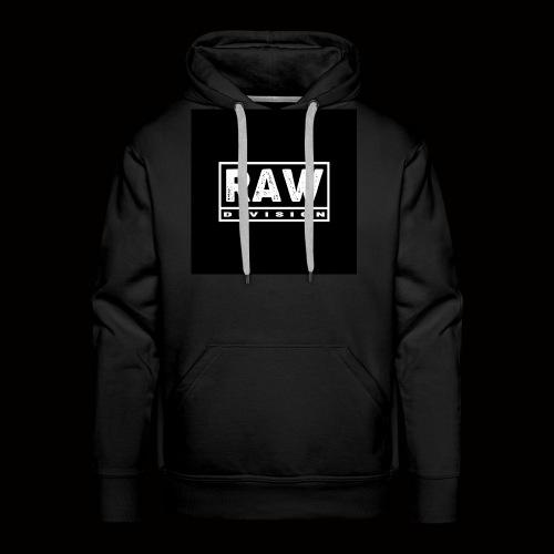 Raw Division tee - Men's Premium Hoodie
