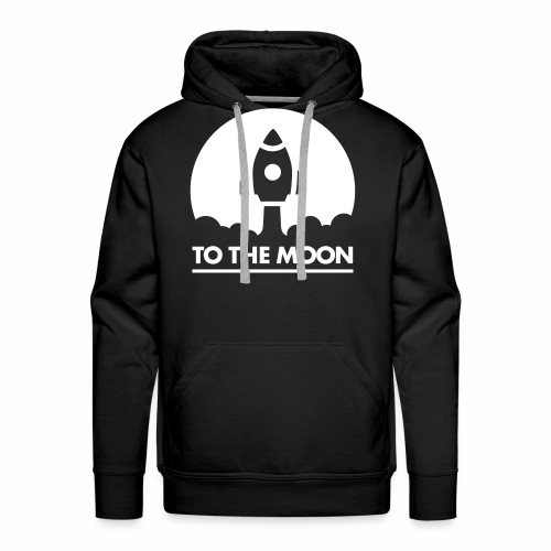 To The Moon - Männer Premium Hoodie