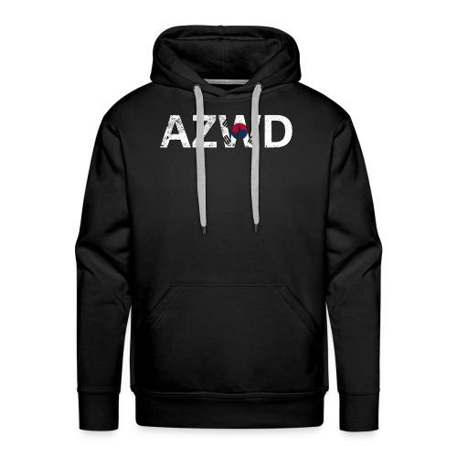AZWD South Korea - Sweat-shirt à capuche Premium pour hommes