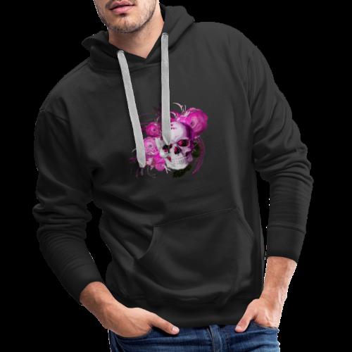 Pink fantasy skull - Premiumluvtröja herr