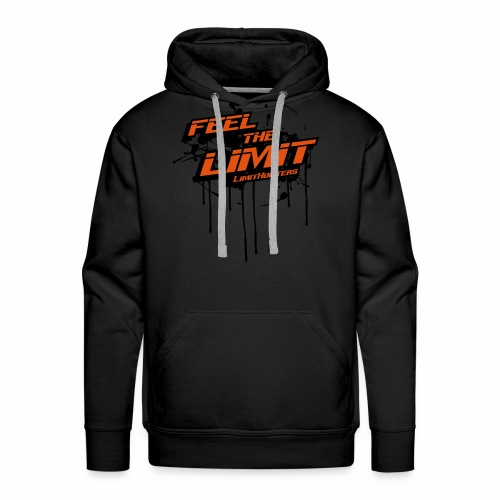 Feel the Limit - Limithunters - Männer Premium Hoodie